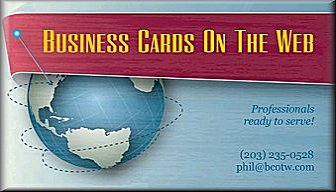 Business Cards On The Web