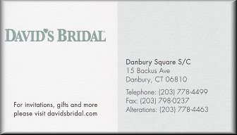 David's Bridal, Danbury