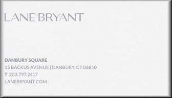 Lane Bryant, Danbury