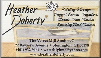 Heather Doherty - Painting and Design