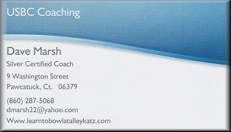 U.S.B.C. Coaching - Dave Marsh